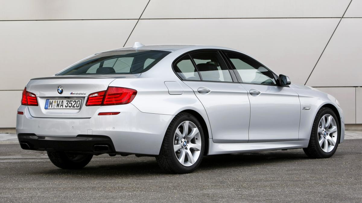 BMW M550d F10/F11 381hp - Mosselman Turbo Systems