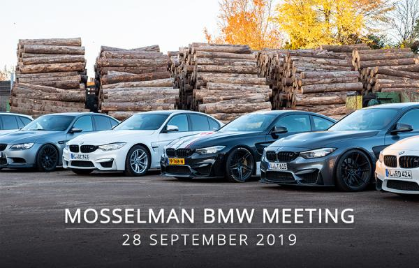 28 September: Mosselman BMW Meeting / Demo Day