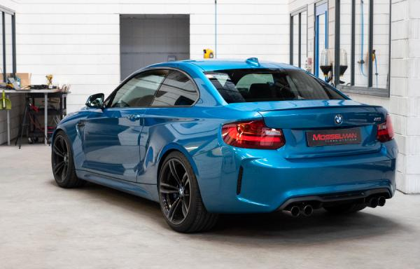Beautiful BMW M2 tuned by Mosselman