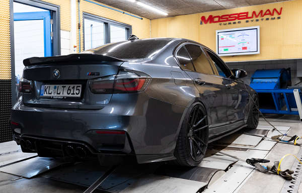 BMW M3 Competition with Upgrade Mosselman Turbos: 683hp !