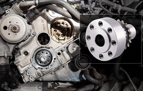 Recommended for tuned S55 engines: MSL Crank Hub Upgrade!