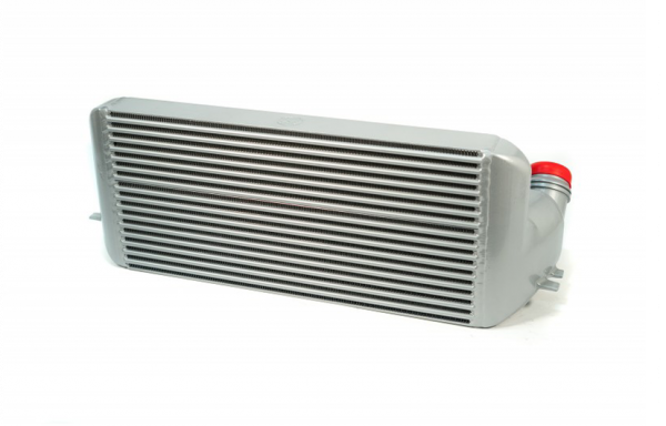 BMW 1/2/3/4 Series CSF Race High Performance Intercooler, Stepped Bar & Plate Core (silver)