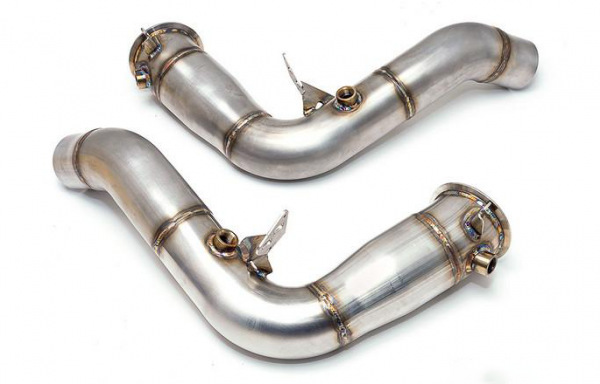 Downpipe Catless S63, BMW M5/M6 F1x Stainless steel (ALFA)