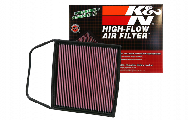 K&N replacement air filter BMW N54 1-series M 135i/335i/535i/Z4 30i/Z4 35i sDrive