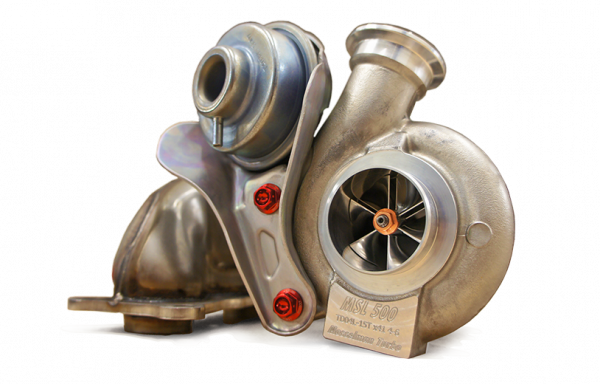 Upgrade turbocharger set MSL50-65, BMW N54, 500-650hp