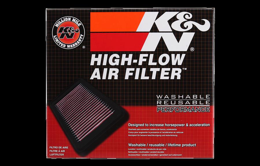 K&N replacement air filter BMW N20, N47, B47 2011-2018 - Mosselman