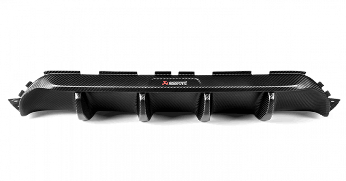 Diffuser Carbon Fiber Matte Akrapovic Bmw M5 F90 S63 Mosselman Turbo Systems